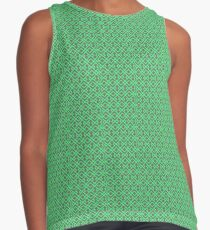 Electric Green Contrast Tank