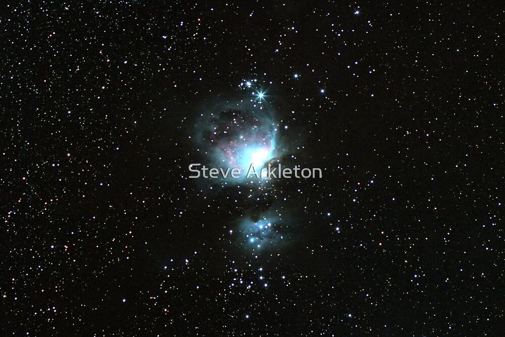 The Great Orion Nebula by Steve Arkleton