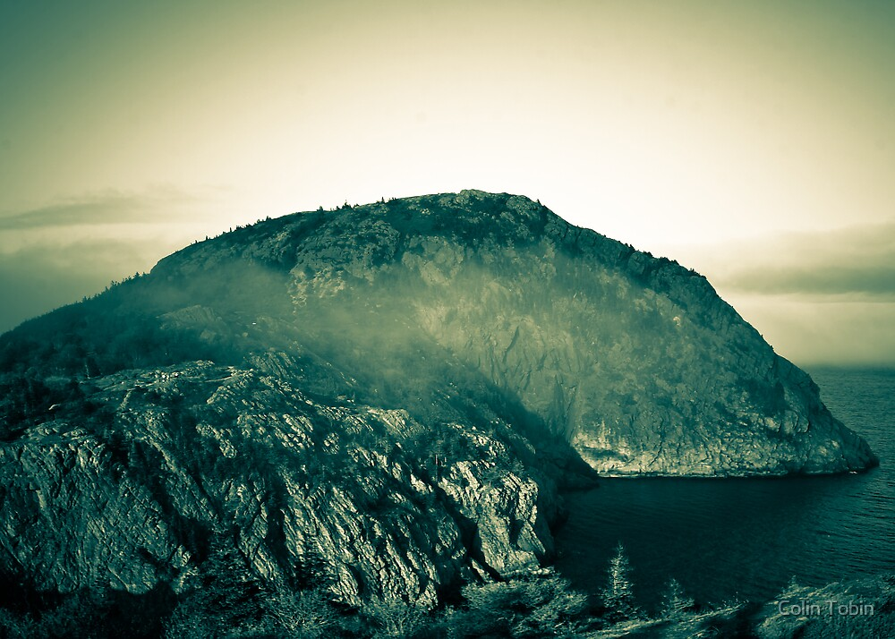 Misty Mountain Top by Colin Tobin