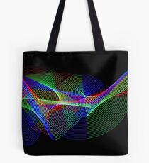 Light Painting Colour 2 Tote Bag