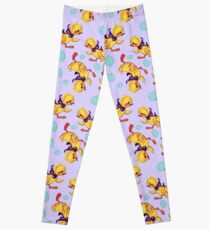Cute baby duckling and eggs pattern Leggings