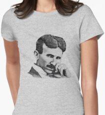 Nikola Tesla Women's Fitted T-Shirt