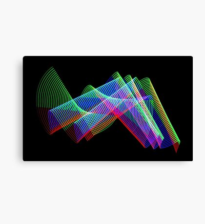 Light Painting color 3 Canvas Print