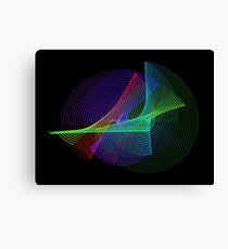 Light Painting color 4 Canvas Print