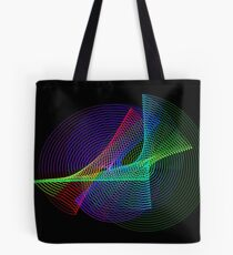Light Painting color 4 Tote Bag