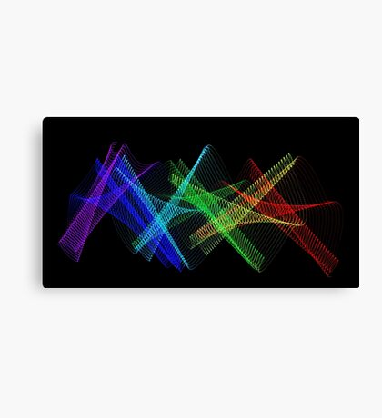 Light Painting Color 7 Canvas Print