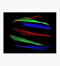 Light Painting Color 8 Photographic Print