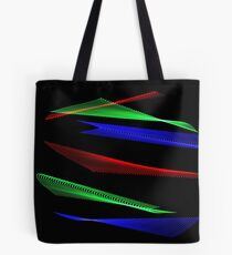 Light Painting Color 8 Tote Bag