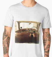 1940s classic car interior Men's Premium T-Shirt