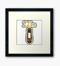 221B BakerStreet Framed Print