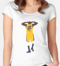 Draymond Green Flexing  Fitted Scoop T-Shirt
