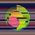 Juxtaposed Circles by Dana Roper