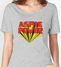 Aspie Power with a 60s 3D twist Women's Relaxed Fit T-Shirt