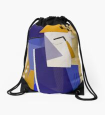 The Striped Tie Drawstring Bag
