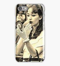 1940s vintage woman iPhone Case/Skin