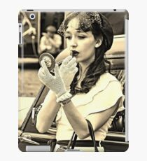 1940s vintage woman iPad Case/Skin