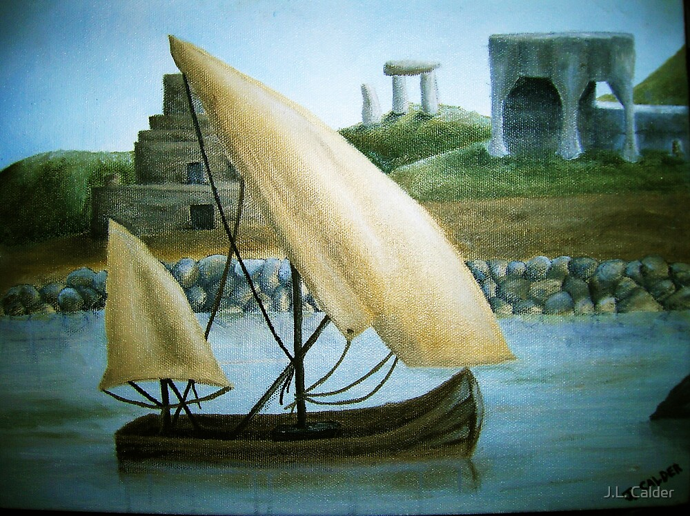 A Sailor's Dream by J.L. Calder