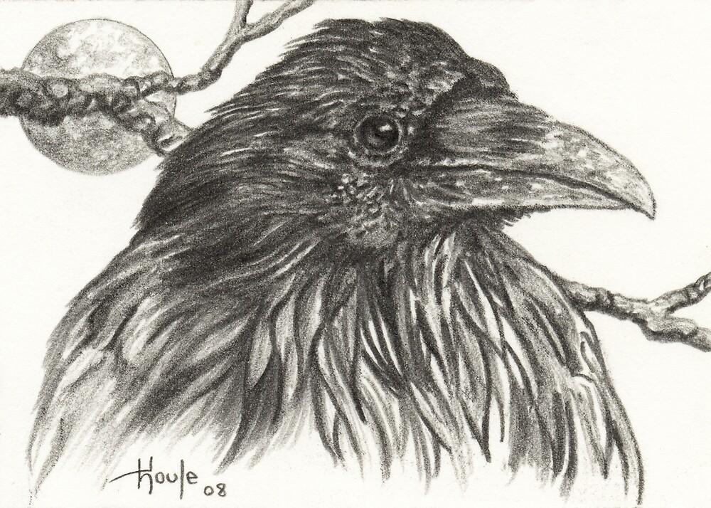 ACEO Raven by John Houle