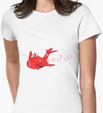 little red mig 15 Women's Fitted T-Shirt