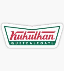 Kukulkan Quetzalcoatl Sticker
