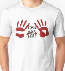 Castiel was here (handsy) Unisex T-Shirt