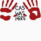Castiel was here (handsy) by helio67