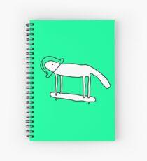 Space Dog Spiral Notebook
