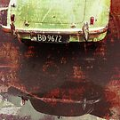 Old Green Car by Paul Webster