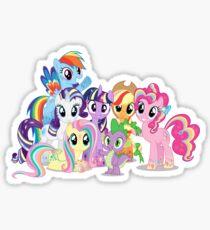 The Pony Crew Sticker