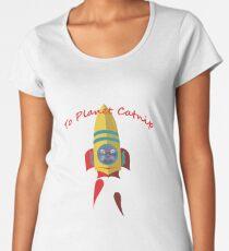 Cat - To Planet Catnip Women's Premium T-Shirt