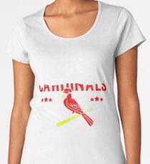 CARDINALS  BASEBALL FANS  Women's Premium T-Shirt