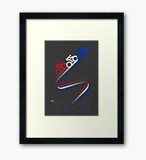 Bike GB Framed Print