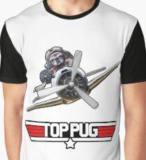 Top Pug  Graphic T-Shirt