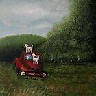 PLAYTIME, Acrylic Painting, for prints and products  by Bob Hall©