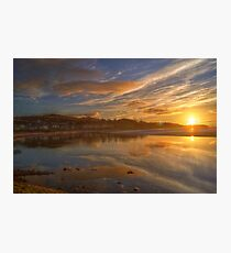 Arnside Sunset Photographic Print