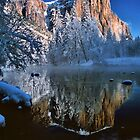 REFLECTION OF EL CAPITAN* by Chuck Wickham
