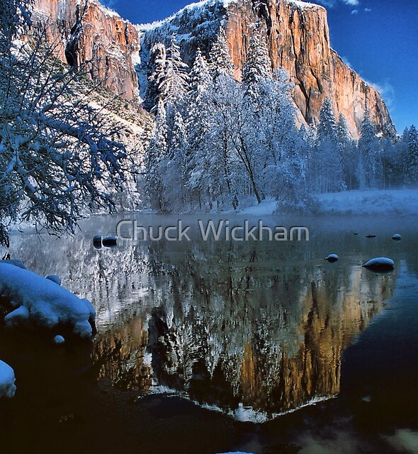 REFLECTION OF EL CAPITAN* by Chuck Wickham