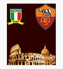 Roma  Italy Colosseum Photographic Print