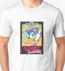 Sonic Box Art Unisex T-Shirt