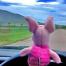 Piglet was elected designated driver. by Frank  McDonald