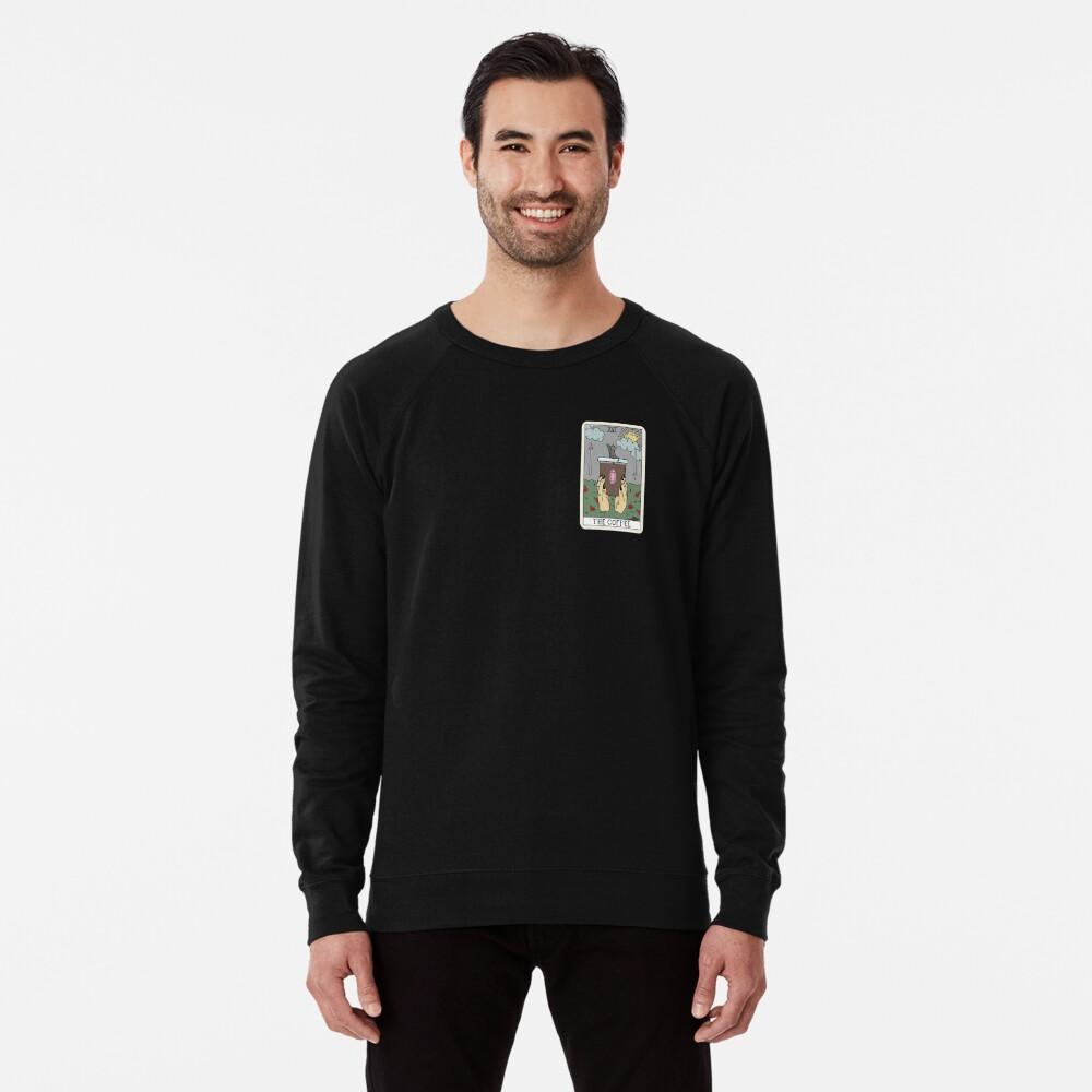 (Black) Coffee Reading Lightweight Sweatshirt