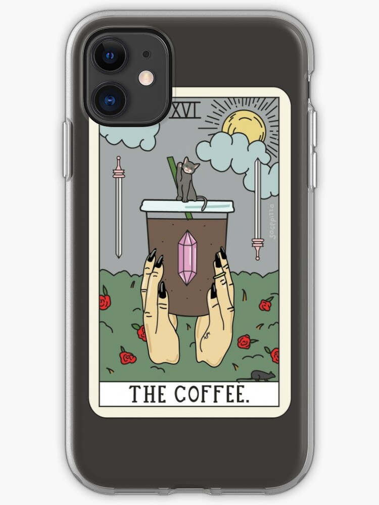 COFFEE READING (LIGHT) iphone 11 case