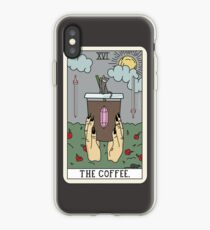 (Black) Coffee Reading iPhone Case