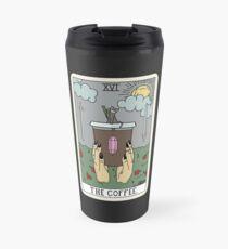(Black) Coffee Reading Travel Mug