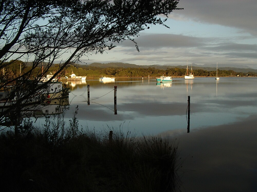 Strahan reflections 2 by Paul Alderson