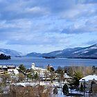 Winters lake by Steve Stones