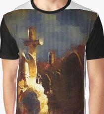 Gothic Church Yard Graphic T-Shirt