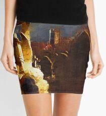 Gothic Church Yard Mini Skirt