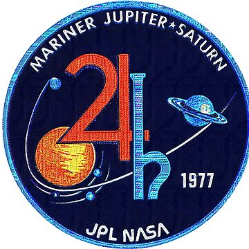 Mariner Jupiter/Saturn '77 - large patch insignia by thelogbook