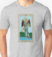 The Temperance Tarot Colored Unisex T-Shirt